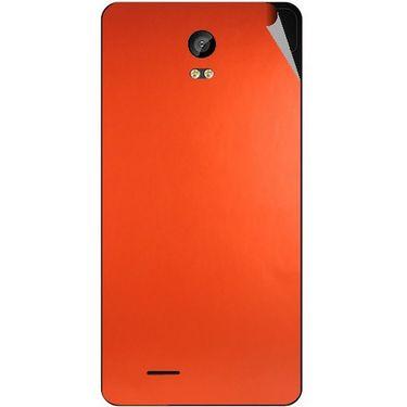 Snooky 43310 Mobile Skin Sticker For Intex Aqua Life 2 - Orange