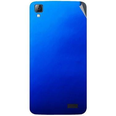 Snooky 43340 Mobile Skin Sticker For Intex Aqua N7 - Blue