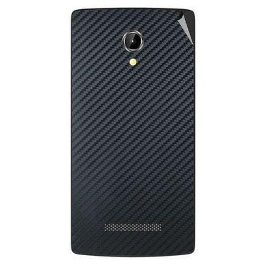 Snooky 43351 Mobile Skin Sticker For Intex Aqua N8 - Black