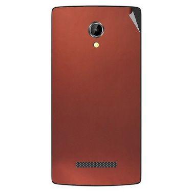 Snooky 43355 Mobile Skin Sticker For Intex Aqua N8 - Copper