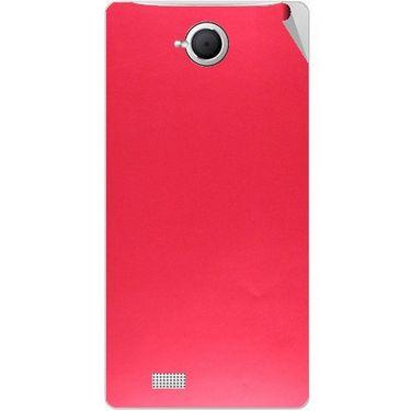 Snooky 43366 Mobile Skin Sticker For Intex Aqua N17 - Red