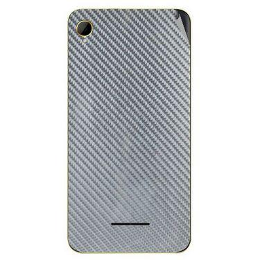 Snooky 43386 Mobile Skin Sticker For Intex Aqua Power HD - silver