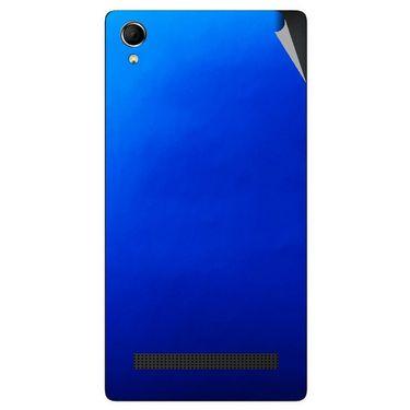 Snooky 43388 Mobile Skin Sticker For Intex Aqua Power Plus - Blue