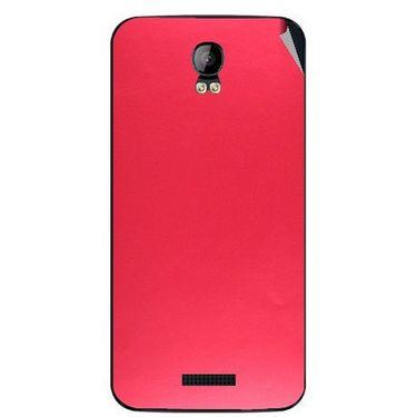 Snooky 43402 Mobile Skin Sticker For Intex Aqua Q1 - Red