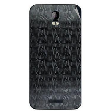 Snooky 43404 Mobile Skin Sticker For Intex Aqua Q1 - Black