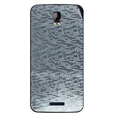 Snooky 43409 Mobile Skin Sticker For Intex Aqua Q1 - silver
