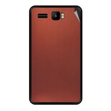 Snooky 43427 Mobile Skin Sticker For Intex Aqua R3 - Copper
