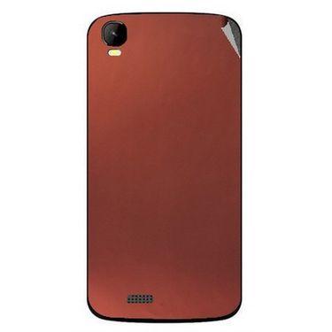 Snooky 43439 Mobile Skin Sticker For Intex Aqua Speed - Copper