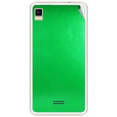 Snooky 43456 Mobile Skin Sticker For Intex Aqua Star 5.0 - Green