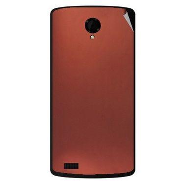 Snooky 43475 Mobile Skin Sticker For Intex Aqua Star Power - Copper