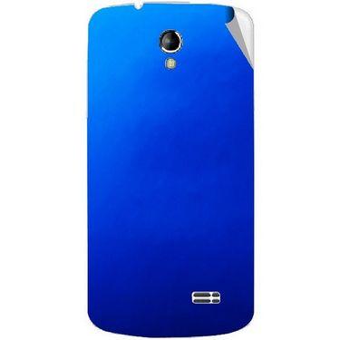 Snooky 43496 Mobile Skin Sticker For Intex Aqua SUPERB - Blue