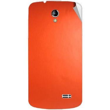 Snooky 43502 Mobile Skin Sticker For Intex Aqua SUPERB - Orange