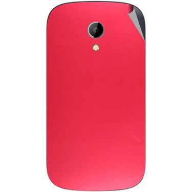 Snooky 43510 Mobile Skin Sticker For Intex Aqua T2 - Red
