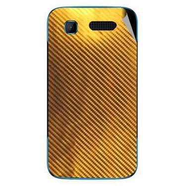 Snooky 43521 Mobile Skin Sticker For Intex Aqua T3 - Golden