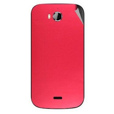 Snooky 43534 Mobile Skin Sticker For Intex Aqua Wonder - Red