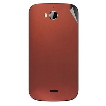 Snooky 43535 Mobile Skin Sticker For Intex Aqua Wonder - Copper