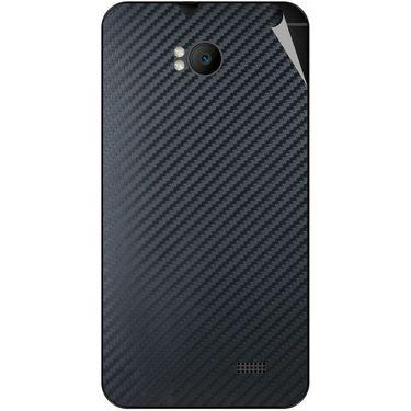 Snooky 43567 Mobile Skin Sticker For Intex Aqua Y2 Remote - Black