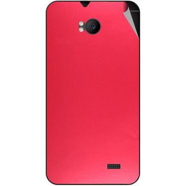 Snooky 43570 Mobile Skin Sticker For Intex Aqua Y2 Remote - Red
