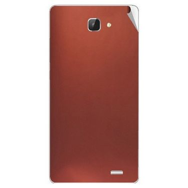 Snooky 43607 Mobile Skin Sticker For Intex Aqua I5 Hd - Copper