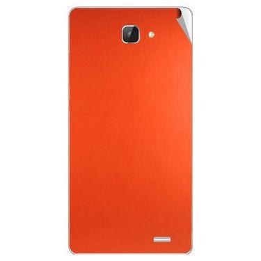 Snooky 43610 Mobile Skin Sticker For Intex Aqua I5 Hd - Orange