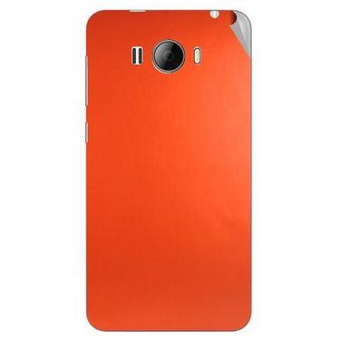 Snooky 43622 Mobile Skin Sticker For Intex Aqua N15 - Orange