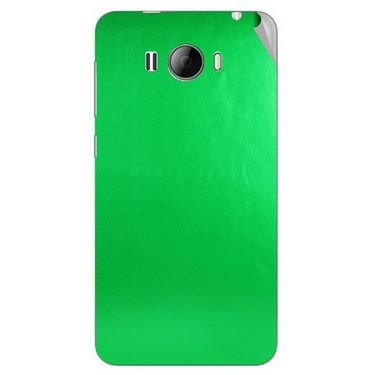 Snooky 43624 Mobile Skin Sticker For Intex Aqua N15 - Green