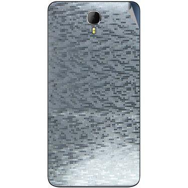 Snooky 43637 Mobile Skin Sticker For Intex Aqua Star 2 - silver