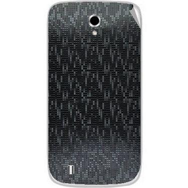Snooky 43656 Mobile Skin Sticker For Intex Cloud Y4 Plus - Black
