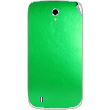 Snooky 43660 Mobile Skin Sticker For Intex Cloud Y4 Plus - Green