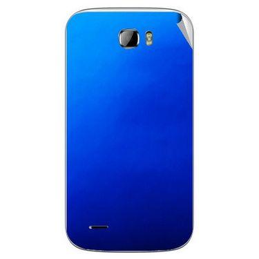 Snooky 43676 Mobile Skin Sticker For Intex Cloud Z5 - Blue