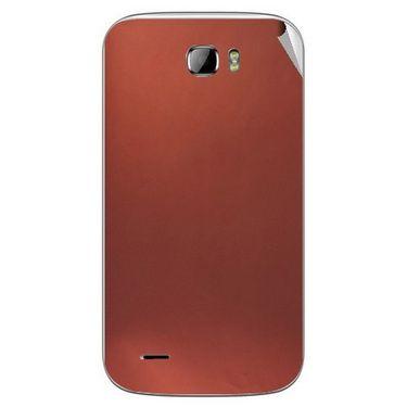 Snooky 43679 Mobile Skin Sticker For Intex Cloud Z5 - Copper