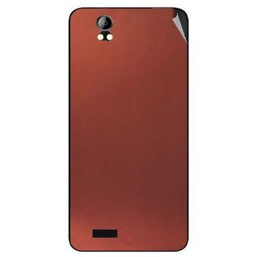 Snooky 43691 Mobile Skin Sticker For Intex Aqua Style Pro - Copper