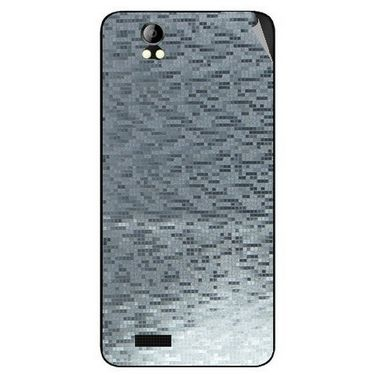 Snooky 43697 Mobile Skin Sticker For Intex Aqua Style Pro - silver