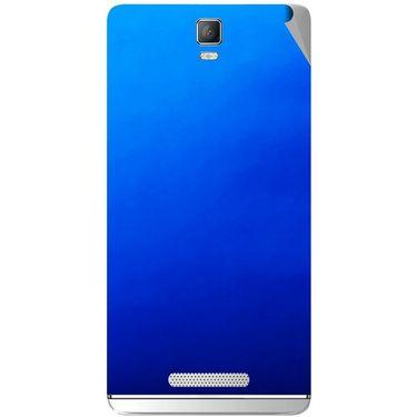 Snooky 43712 Mobile Skin Sticker For Lava Iris Fuel 50 - Blue