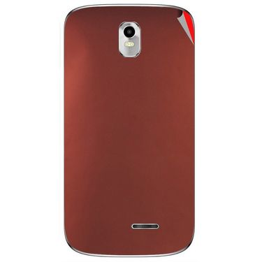 Snooky 43727 Mobile Skin Sticker For Lava Iris 402 Plus - Copper
