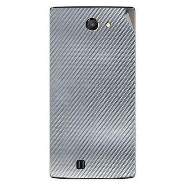 Snooky 43758 Mobile Skin Sticker For Lava Iris 456 - silver