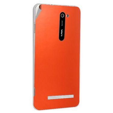 Snooky 43778 Mobile Skin Sticker For Lava Iris 503 - Orange