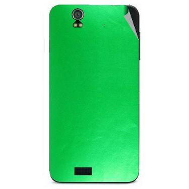Snooky 43816 Mobile Skin Sticker For Lava Iris selfie 50 - Green