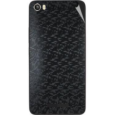 Snooky 43824 Mobile Skin Sticker For Lava Iris X8 - Black