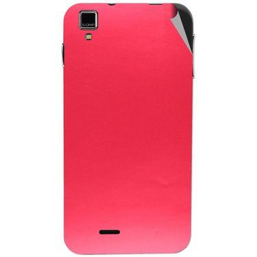 Snooky 43858 Mobile Skin Sticker For Lava Iris 405 Plus - Red