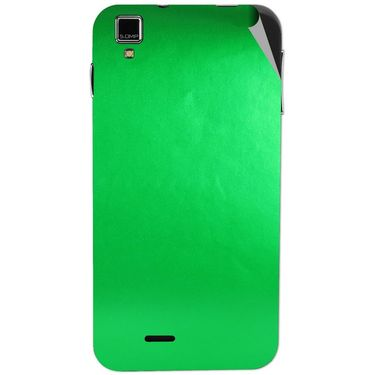 Snooky 43864 Mobile Skin Sticker For Lava Iris 405 Plus - Green