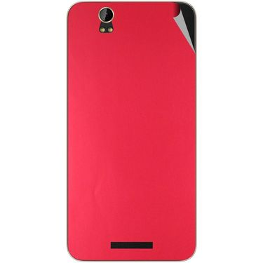 Snooky 43882 Mobile Skin Sticker For Lava Iris X1 - Red