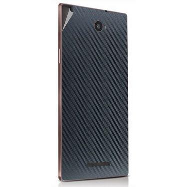 Snooky 43915 Mobile Skin Sticker For Lava Magnum X604 - Black