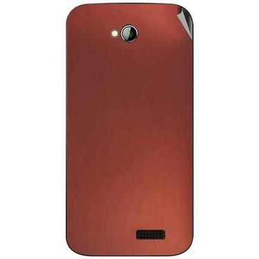 Snooky 43967 Mobile Skin Sticker For Micromax Bolt A089 - Copper