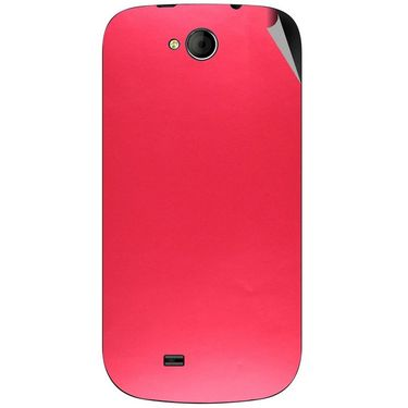 Snooky 44038 Mobile Skin Sticker For Micromax Canvas Elanza A93 - Red