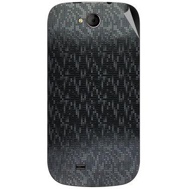 Snooky 44040 Mobile Skin Sticker For Micromax Canvas Elanza A93 - Black