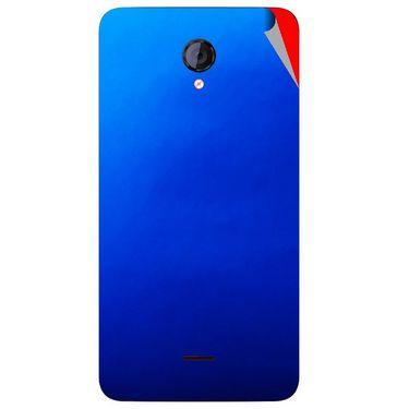 Snooky 44132 Mobile Skin Sticker For Micromax Canvas Unite 2 A106 - Blue