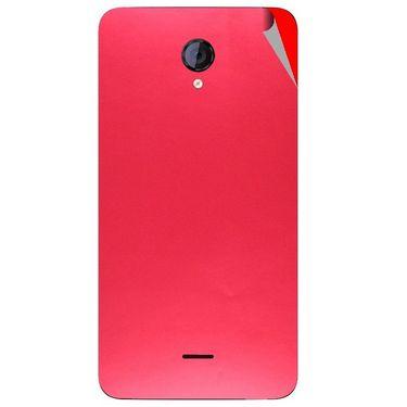 Snooky 44134 Mobile Skin Sticker For Micromax Canvas Unite 2 A106 - Red