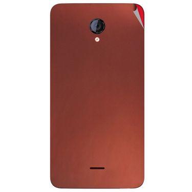 Snooky 44135 Mobile Skin Sticker For Micromax Canvas Unite 2 A106 - Copper