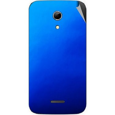 Snooky 44180 Mobile Skin Sticker For Micromax Canvas 2.2 A114 - Blue